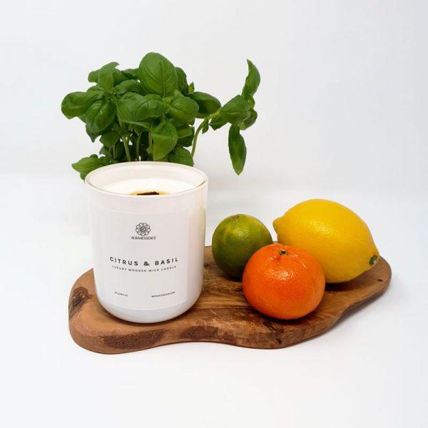 Citrus & Basil Candle
