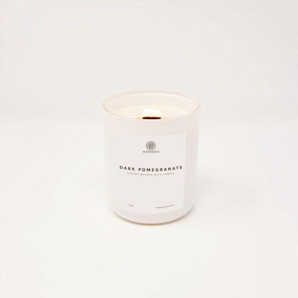 Dark Pomegranate Candle