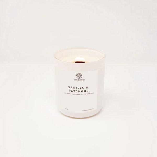 Vanilla + Patchouli Candle